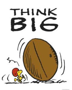 Peanuts-Think-Big-Posters-240x300